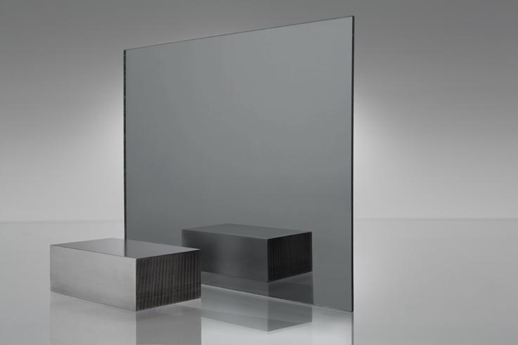 1050 Espejo gris humo