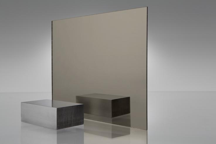 Espejo transparente 1600 bronce