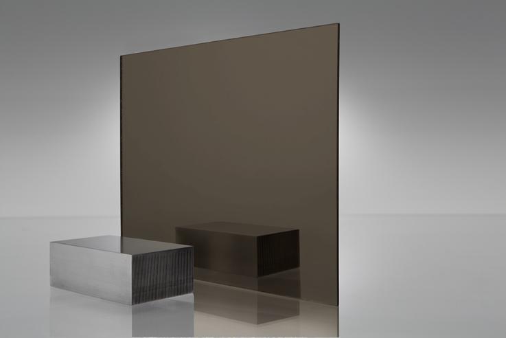 Espejo transparente 2370 bronce