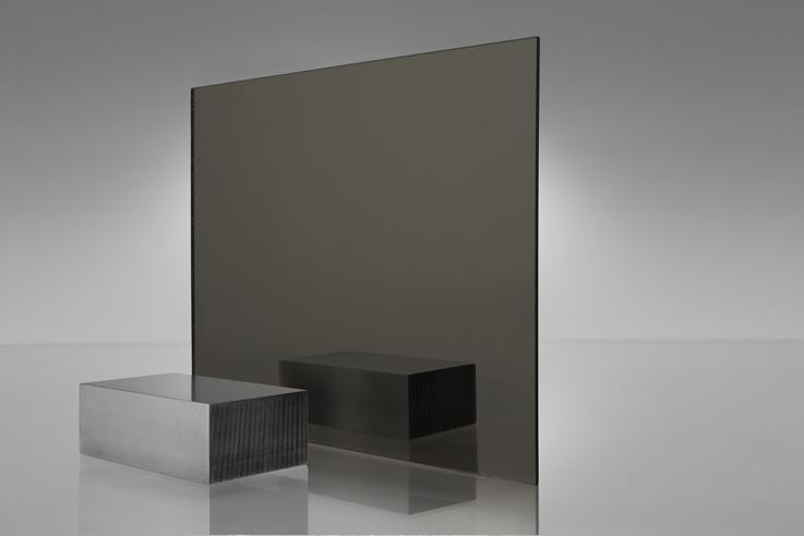 Espejo transparente 2412 bronce