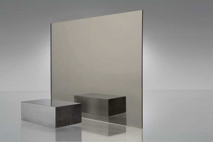 Espejo transparente 2540 bronce