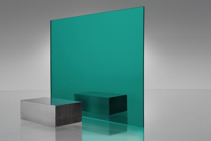 Espejo transparente 2120 turquesa